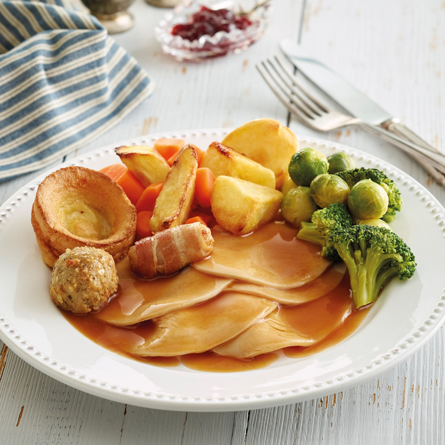 Luxury Roast Turkey Dinner