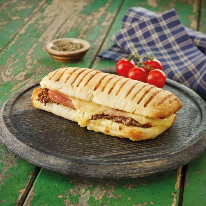 Ham, Cheddar & Wholegrain Mustard Panini