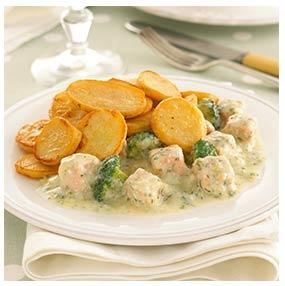 Salmon & Broccoli Bake | Oakhouse Foods